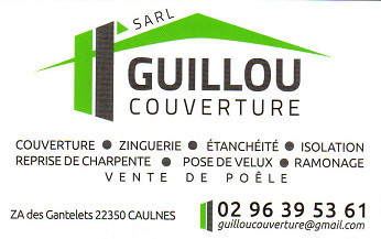 carte de visite guilloux couverture