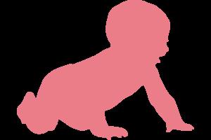 enfant rose