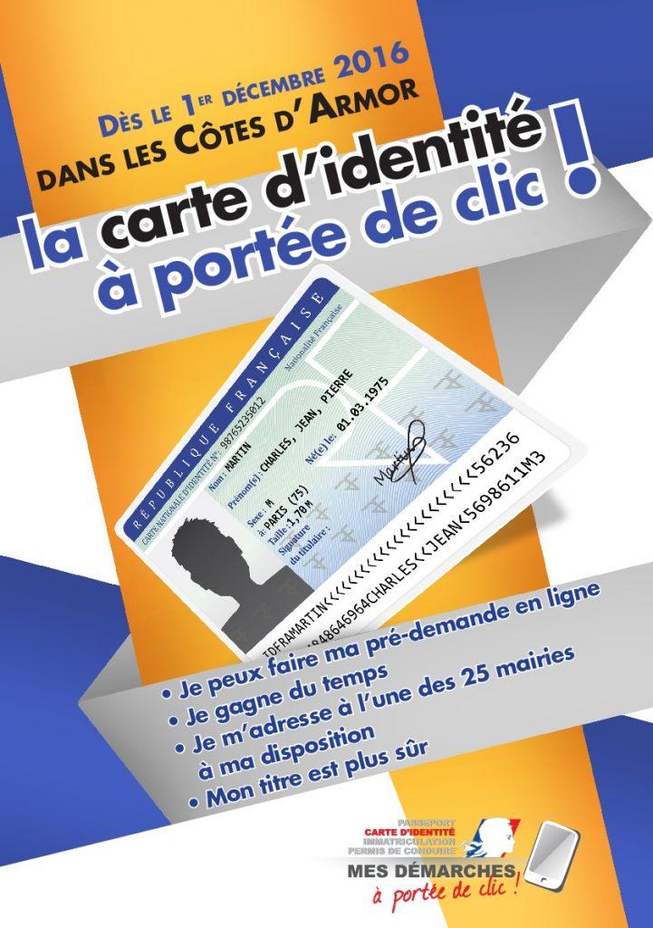 carte d'identité affiche