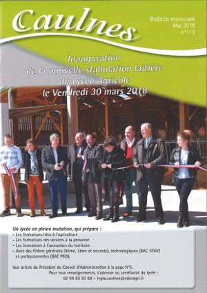 bulletin municipal mai 2018 caulnes