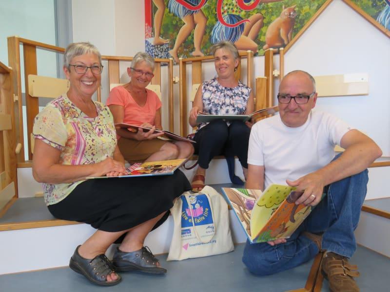 bénévoles de lire et faire lire de Caulnes