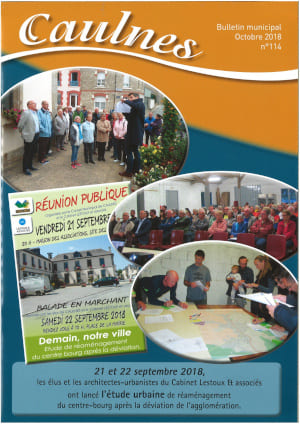 couverture bulletin municipal de caulnes octobre 2018