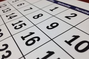 date calendrier