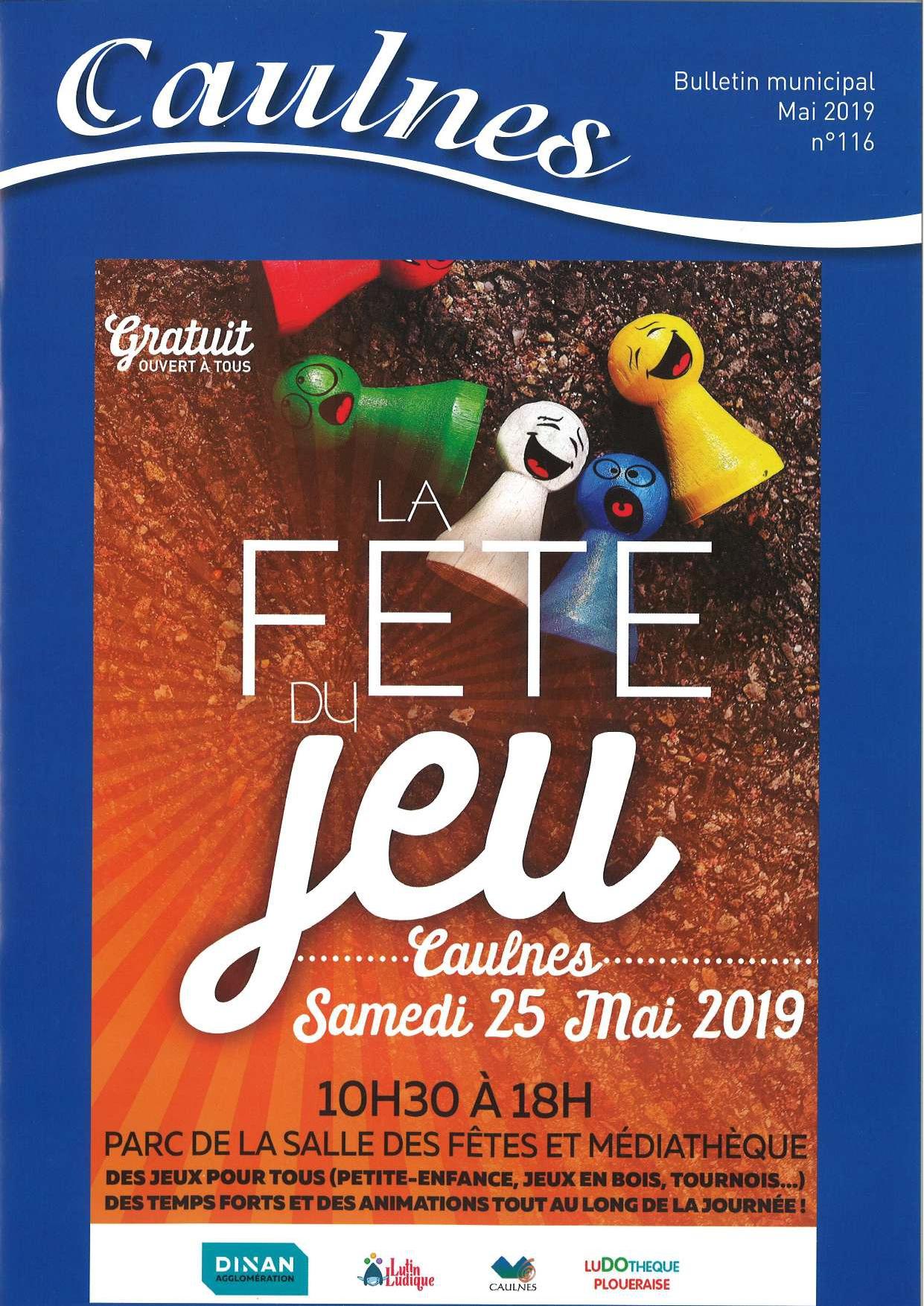 couverture bulletin communal mai 2019