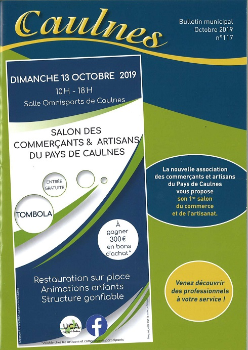 couv bulletin municipal caulnes octobre 2019