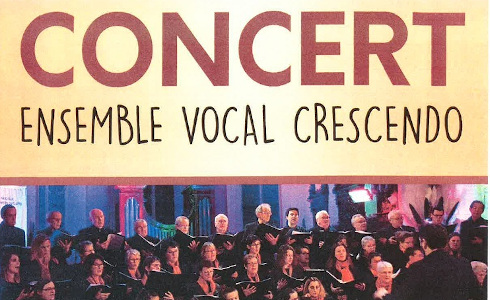 (Annulé) Concert – Ensemble Vocal Crescendo