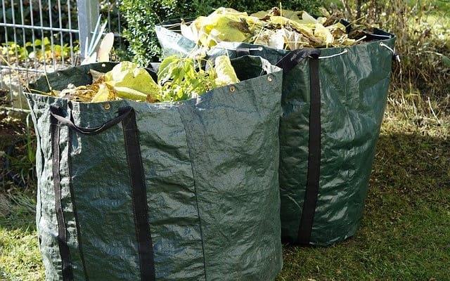 sacs de mauvaises herbes