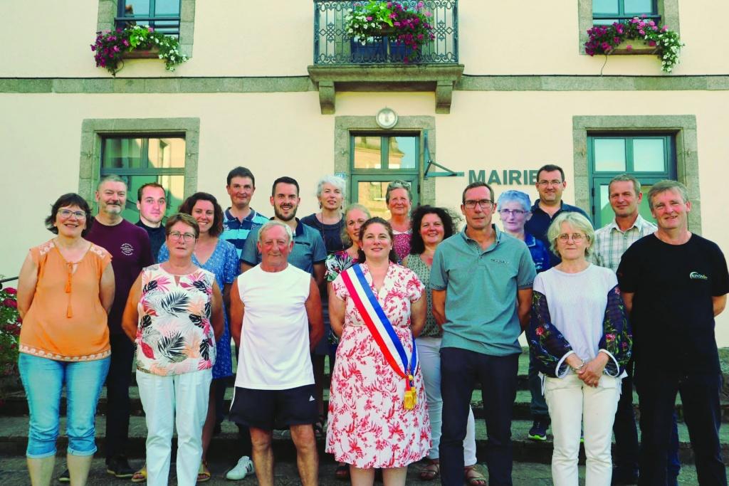 Elus du conseil municipal de Caulnes 2020 à 2026